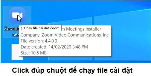 Hướng dẫn cài đặt phần mềm Zoom Cloud Meetings