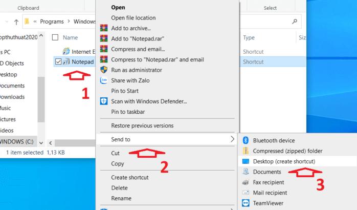 Cách xử lý lỗi Notepad windows 10