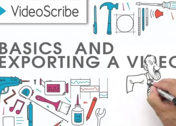 Phần mềm videoscrib - Download phần mềm VideoScribe làm video hoạt hình animation