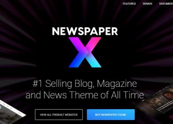 Theme tin tức WordPress Newspaper 10 Free