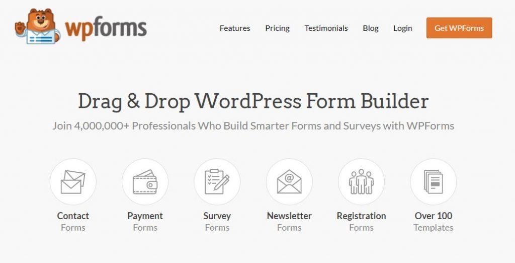 WPform - Top 30 Plugin WordPress