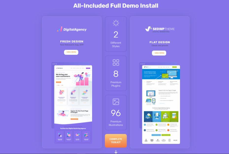 SEOWP Theme Premium V2.2.2 For WordPress - Seo & Digital marketing 2