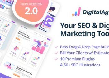 SEOWP Theme Premium V2.2.2 For WordPress - Seo & Digital marketing