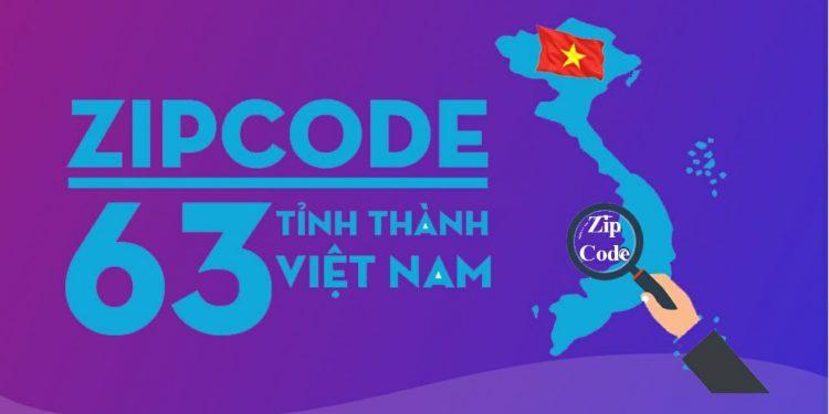 Mã bưu chính 63 tỉnh thành Việt Nam - zip postal code