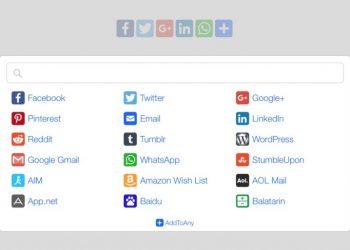 Plugin AddToAny Share Buttons - Thêm nút chia sẽ mạng xã hội WordPress tốt nhất